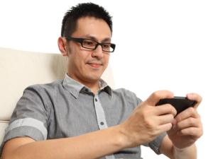 mobile-gamer
